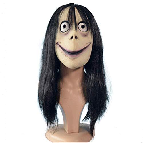 Tv Kostüm Game Show - LLU Heiße Horror Death Game Party Ball weibliche Geister Latex Haube Halloween Maske