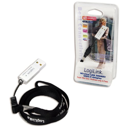 LogiLink WLAN USB 2.0 Micro Adapter - Accesorio de red (Inalámbrico, USB, 480 Mbit/s, Realtek, 2.4 - 2.4833 GHz, Gris)