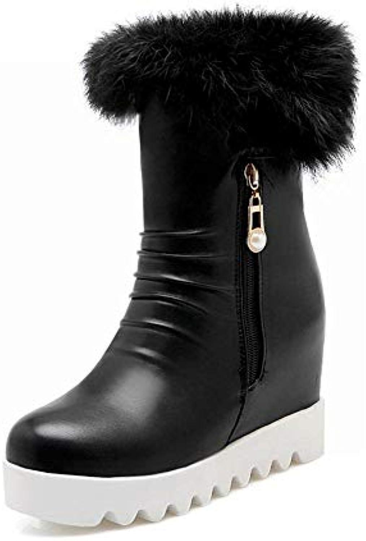 XDX Stivali da Donna - Stivali Invernali Anti-Sci Caldi Caldi Caldi Invernali Stivali in Cotone a Fondo Piatto Maggiorati ... | Ottima selezione  9811ff