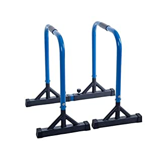 Parallettes Dip Bars Dip Barren Fitness Parallettes Premium (Paar)| Push up...