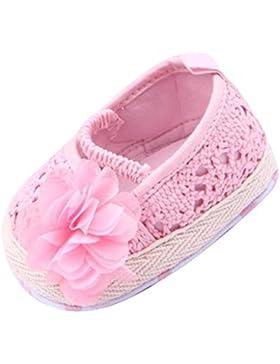 Niedliche Blume Verschönert Kleinkind Babyschuhe Des Babys Krippe Schuhe Rosa 13