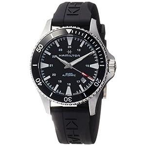 Hamilton Reloj de Hombre automático 40mm Correa de Goma Color Negro H82335331