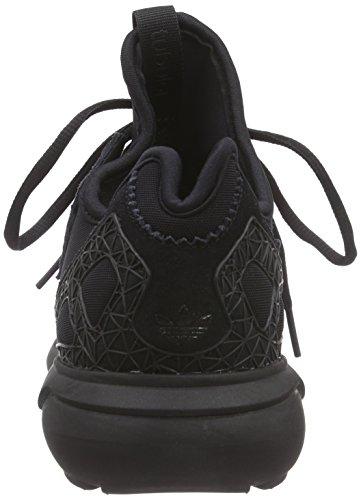 adidas Originals Tubular, Baskets Basses Femme Noir - Schwarz (Core Black/Core Black/Core Black)