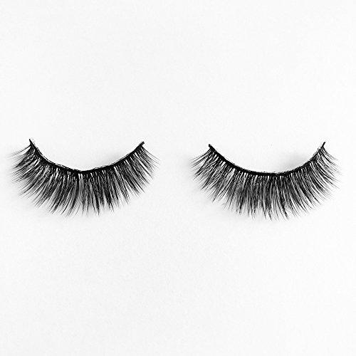 wyxhkj faux cils 5 paires de faux-cils faux naturels 3D naturels, extension de maquillage des cils (F)
