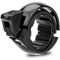 JUCERS Fahrradklingel Laut, Universal Fahrradglocke für Lenker von 22,2 bis 31,8 mm, O Design für Alle Fahrrad Fahrrad-Klinge Alarm Horn Lenkerklingel