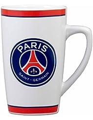 Mug Américain PSG - Collection officielle Paris Saint Germain - Blanc