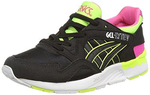 ASICS - Gel-Lyte V Ps, Sneakers Basse, infantile, nero (black/black 9090), 32.5