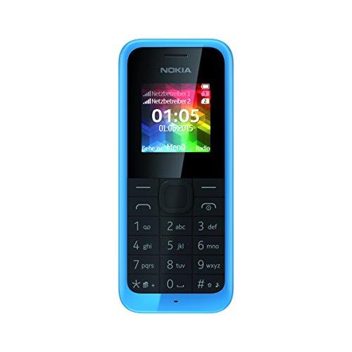 Nokia 105 Dual SIM, cyan