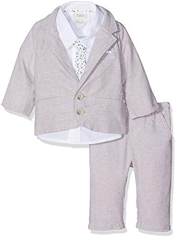 Mamas and Papas Baby Boys' 4Pc Linen Blazer Set Suit,