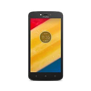 Lenovo Moto C Plus Smartphone portable débloqué 4G (Ecran: 5 pouces - 16 Go - Double Nano-SIM - Android) Noir sidéral