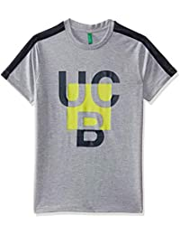 United Colors of Benetton Boys' Plain Regular Fit T-Shirt