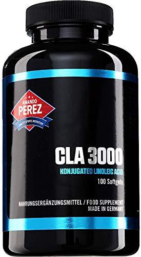 Cla 3000mg per dose Acido linoléique Coniugato 100Capsule rafforzamento muscolare Hardcore e la degradazione delle cellule