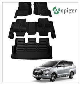 best service 158cd f4c03 SPIGEN AUTO 5D Car Floor mats for Toyota Innova Crysta (Black ...