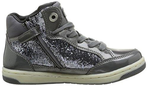 Geox JR CREAMY Mädchen Hohe Sneakers Grau (GREYC1006)