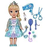Disney, Frozen- Die Eiskönigin - völlig unverfroren - Elsa Kleinkind Puppen- Frisur machen