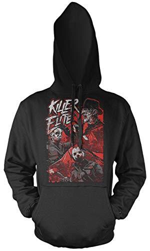 Uglyshirt87 Killer Elite Männer und Herren Kapuzenpullover | Freddy Michael Myers Jason Voorhees (S, ()