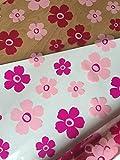 Astic Group - Pellicola in cellophane per cesti fioristi, leggermente piegata in scatola, 2 m, per festa della mamma, 1 m x 80 cm, per fioristi