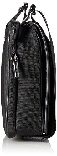 Porsche - Shyrt-nylon Shoulderbag Mfv, Borse a Tracolla Uomo Nero (black 900)