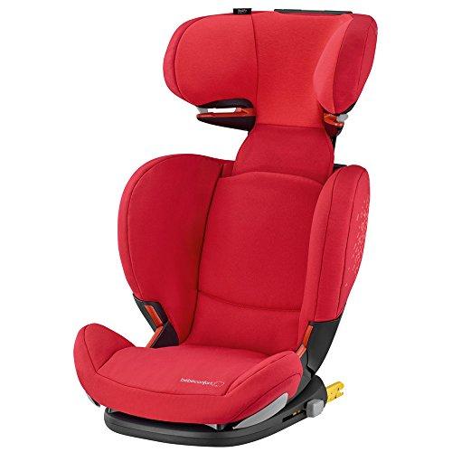 Bébé Confort Rodifix Airprotect Seggiolino Auto 15-36 kg, Gruppo 2/3, 3,5-12 Anni, Vivid Red