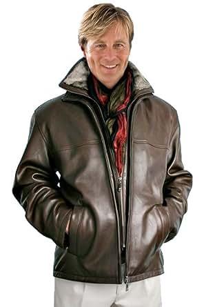 Bergamo Leather Flight Jacket