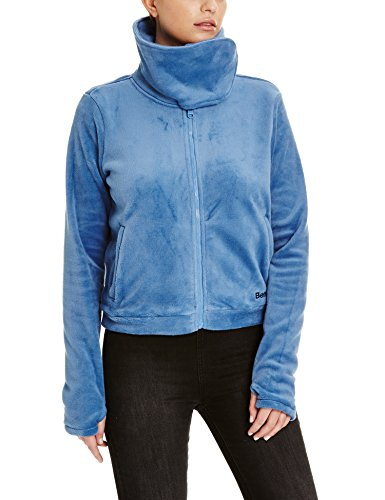 Bench Damen Fleecejacke DIFFERENCE, Gr. Large, Blau (Light Blue BL189)