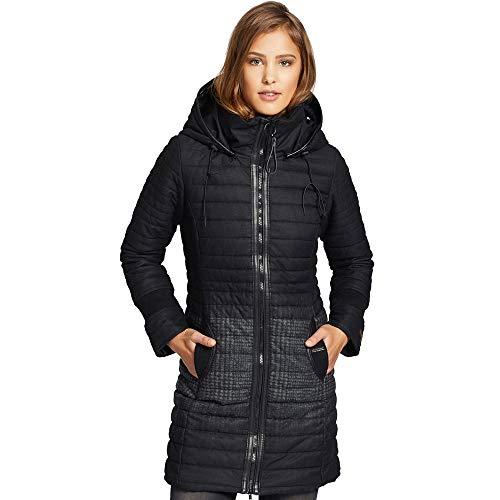 khujo Daily2 Jacket 1131JK183-HS8 Damen-Winterjacke Black Radient Print Gr. XXL