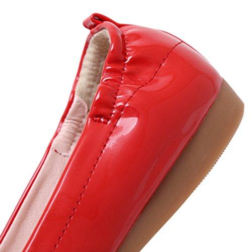 SmilunWbfj006 - Pantofole Donna Rosso