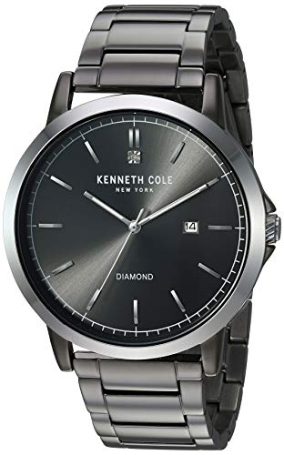Kenneth Cole New York Men's Analog Quartz Watch with Stainless-Steel Strap KC50555003