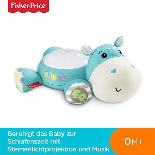 Fisher-Price CGN86 Schlummerlicht Spieluhr Nachtlicht mit Sternenlicht inkl. Melodien und White Noise, ab 0 Monaten, blau - 2