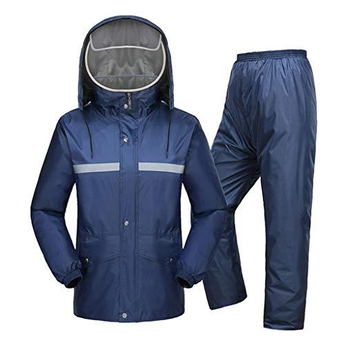 LYP-Rainwear Combinaison de Pluie Unisexe Type de Split...