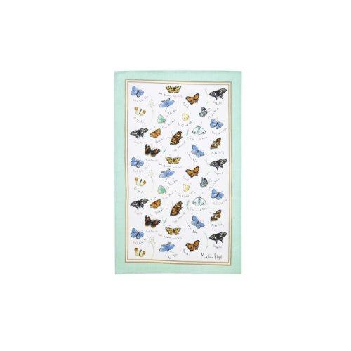 Ulster Weavers Madeleine Floyd Schmetterlinge Baumwolle Schürze Geschirrtuch mehrfarbig (Schmetterlings-schürze)