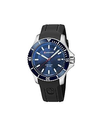 Wenger Wenger Seaforce 01.0643.119 - Reloj de pulsera unisex, Azul/Negro de Wenger