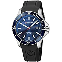 Wenger Wenger Seaforce 01.0643.119 - Reloj de pulsera unisex, Azul/Negro