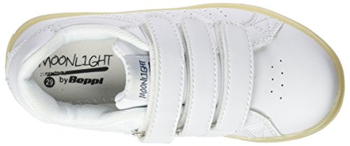 Beppi Casual 2150961, Chaussures de sport mixte enfant Blanc