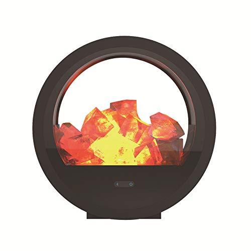 liangh Fackel Lampe,leuchte Garten Für Außen,Gartenfackeln LED Lampen,Realistischer Flammeneffekt,IP65 Wasserdicht,24×7cm,Black
