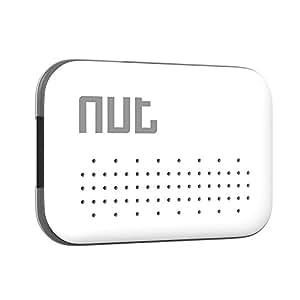 Nut Mini-White GPS tracker Bluetooth pour Smartphone Blanc