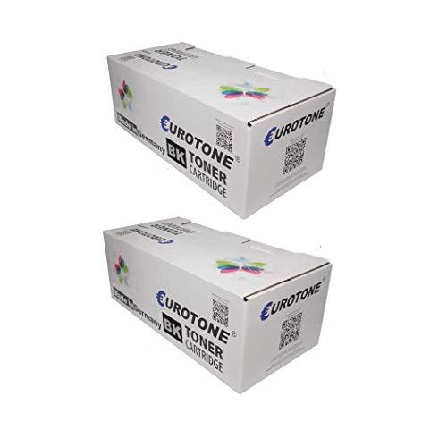 2X Eurotone Toner für Xerox Phaser 3435 V DN N ersetzt 106R01415 Schwarz - Laser-drucker Fuji Xerox