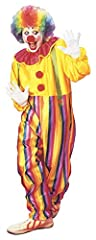 Idea Regalo - Costume da CLOWN economico con collare e bretelle