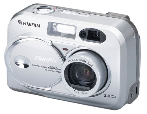 Fuji FinePix 2600 Zoom Digitalkamera (2,0 Megapixel) Zoom-fuji Finepix