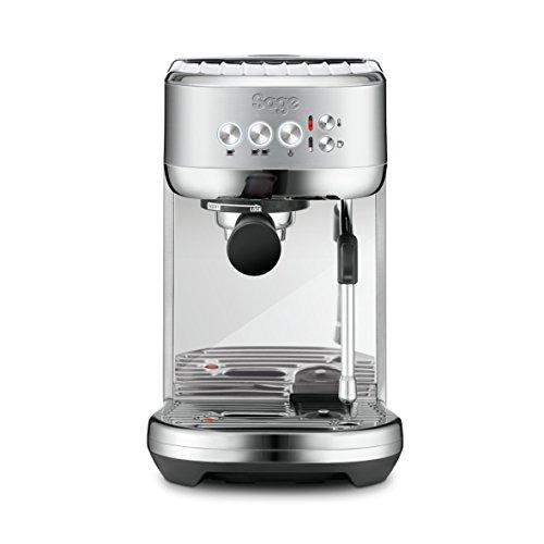 SAGE SES500 the Bambino Plus mit automatischem Milchaufschäumer, 1600 W, Gebürsteter Edelstahl