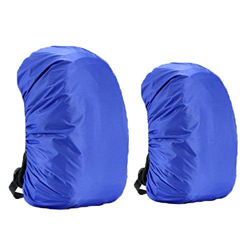 Dricar Rucksackcover Regenhülle Regenschutz Qualitäts Camping Wandern Rucksack Wasserdichte Regenschutz (35L plus 45L Zwei in Einem)