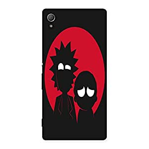 NEO WORLD Devil Friends Back Case Cover for Xperia Z4