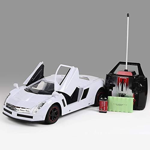 PETRLOY Spielzeugauto Legierung Spielzeug 1:10 Modell Musik für Kinder Geschenk Autos Mit Sound GT RC Lizenzierte Funkfernbedienung RTR Sport Cabrio Diecast Kit Sport Racing