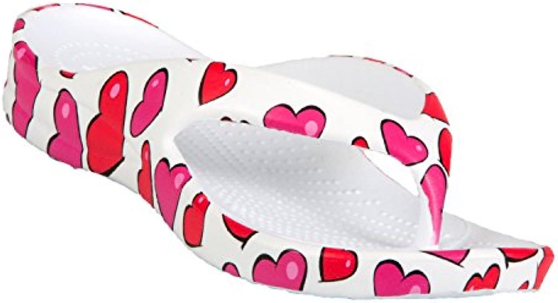 Dawgs Kids' Flip Flops Hearts Size 13