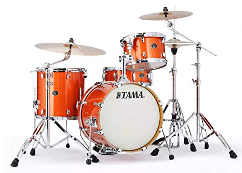 Tama Silverstar Drum Kit Shell Pack, Bright Orange Sparkle VD48S-BOS