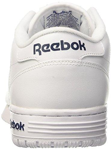 intenso o Reale Bianco Azzurro Bassi fit Int Blanc Cestini Lo Pulito Reebok Azzurro Ex Logo Reale Homme P716qW5w