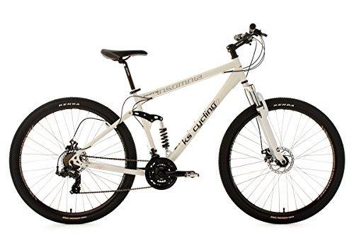 KS Cycling Insomnia VTT tout suspendu 29' Blanc TC 51 cm