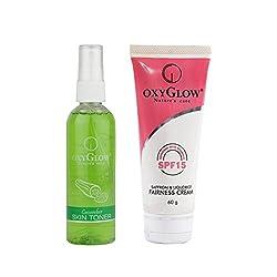 Oxyglow Saffron & Liquorice Fairness Cream With Cucumber Skin Toner