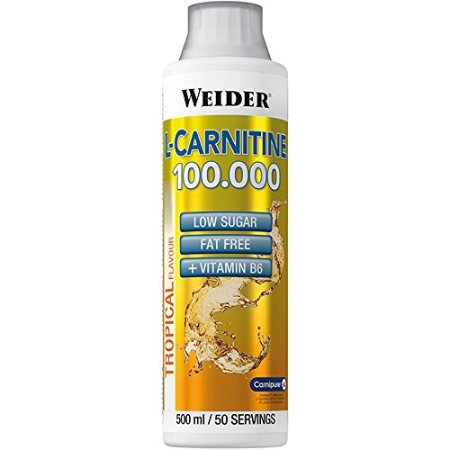 Weider, L-Carnitine 100.000, Tropical, 1er Pack (1x 500ml)