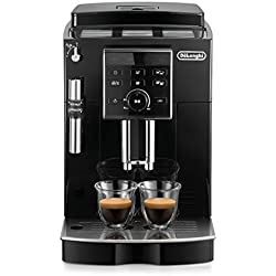 De'Longhi ECAM 25.120.B Kaffeevollautomat   Direktwahltasten und Drehregler   Profi-Aufschäumdüse   2-Tassen-Funktion   Kegelmahlwerk 13 Stufen   Herausnehmbare Brühgruppe   schwarz